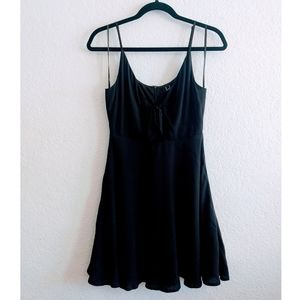 Lulu's Black Skater Dress Size Small